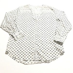 SOFT by JOIE Printed Blouse Size Small